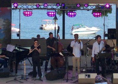 Jamie Baum Septet+ at Lake George Jazz Festival 9:15